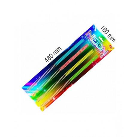 Prskavky neonové farebné 40cm 8ks